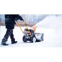 Снегопочистване - ръчно и машинно почистване на сняг