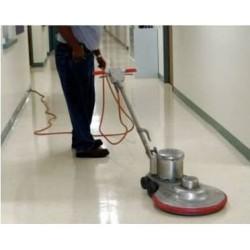 Полиране на твърди подови настилки